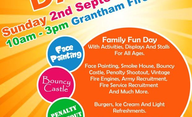 Grantham Fire Station Open day