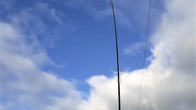 Build yourself a 40/80m antenna for small gardens - Part One -